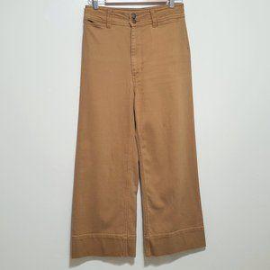 Apiece Apart Merida Jeans Cropped Wide Leg Sz 27